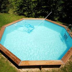 il vous faudra payer au minimum 1000 € pour une piscine rigide en bois comme