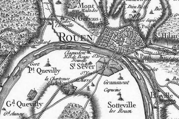 Rouen au XVIIIe siècle