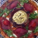 Plat : Innamorato  - Pizza au camembert chaud -
