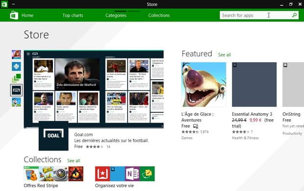 Un Windows Store unifié