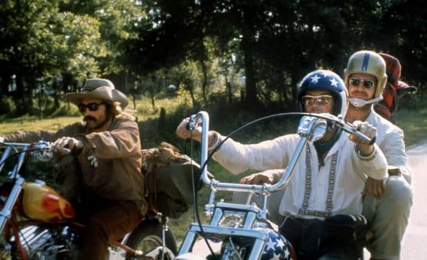 """Jack Nicholson plus allumé que Dennis Hopper dans""""EasyRider"""""""