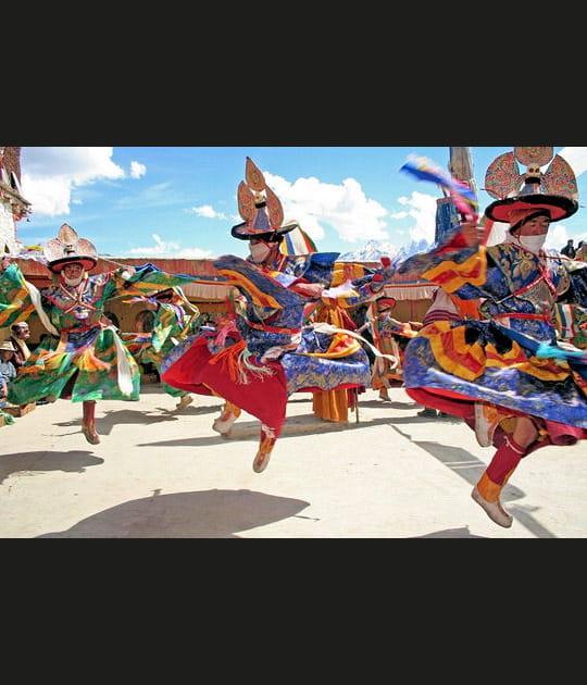 Moines volants du Ladakh