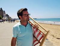 Benoît à la plage : Saint-Malo