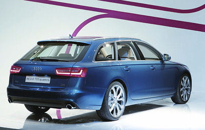premi re image de la nouvelle audi a6 avant. Black Bedroom Furniture Sets. Home Design Ideas