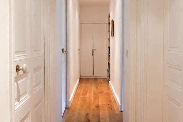 Un couloir lumineux - Peinture long couloir ...