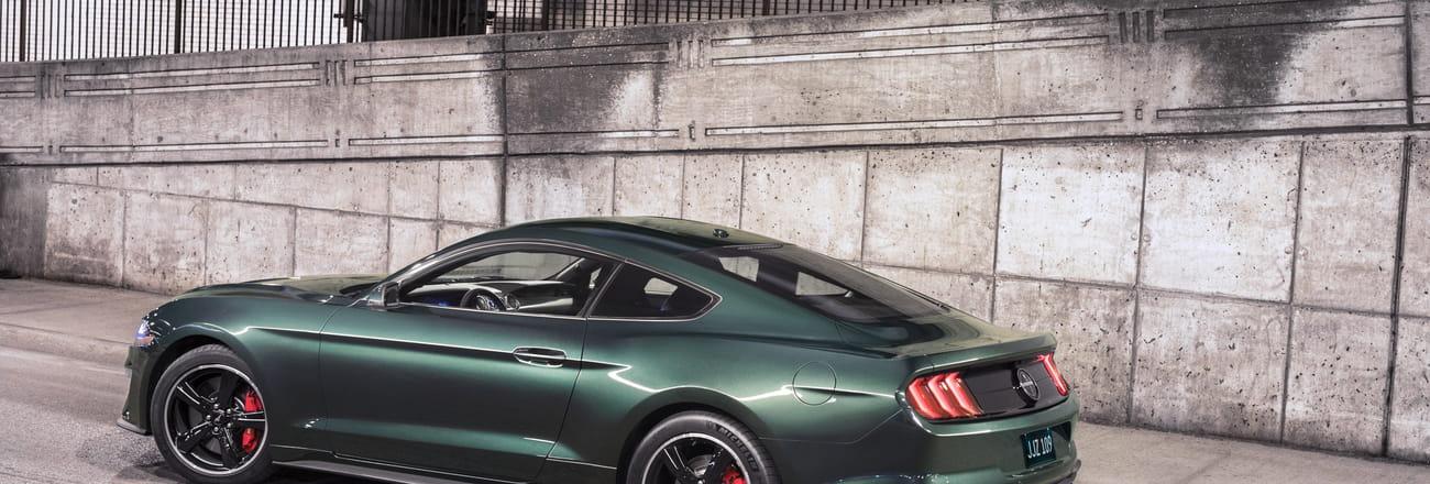 La Ford Mustang Bullitt en images