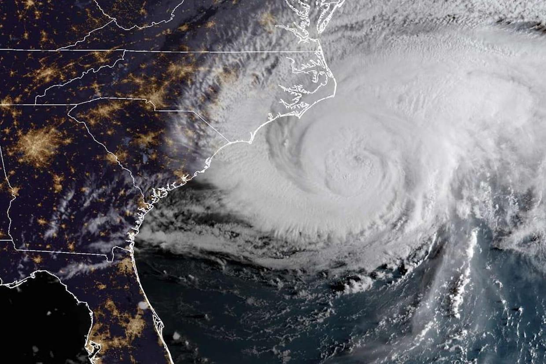 Ouragan Florence Direct Premieres Images Et Trajectoire En Temps Reel