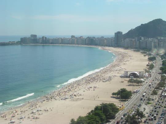 La côte atlantique du Brésil