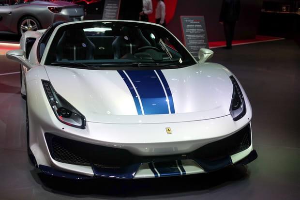 Ferrari dévoile la version cabriolet de sa 488Pista