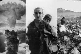 Hiroshima et Nagasaki: 70ans après, images del'apocalypse qui s'est abattu surleJapon