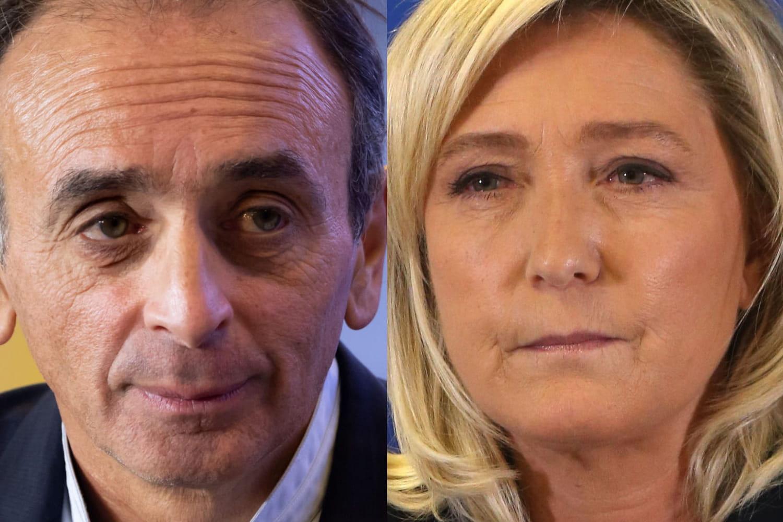 SONDAGE. Zemmour meilleur candidat que Le Pen en 2022pour la droite nationaliste?