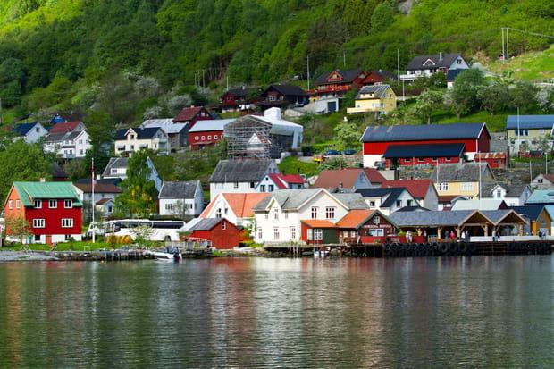 Le port de Bergen en Norvège