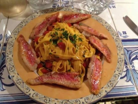 Plat : Le Kanttu  - Rougets sauce langoustine -