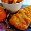 Plat : Brasserie de la Tour Eiffel  - Fish and chips -   © non