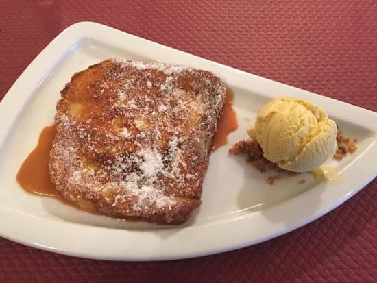 Dessert : Le Grain de Sel  - Le pain perdu de Christelle... Une tuerie !!! -