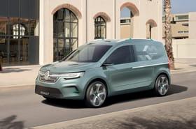 Le Renault Kangoo ZE Concept en images