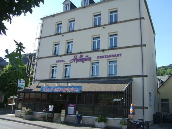 Restaurant les Messageries  - façade exterieure de jour -   © barré muriel