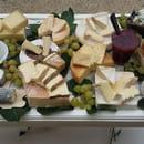 Le Trou Normand  - plateau de fromages -