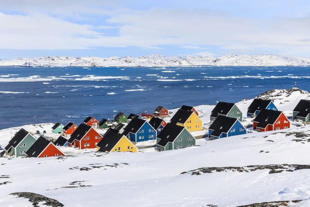 Nuuk, au Groenland