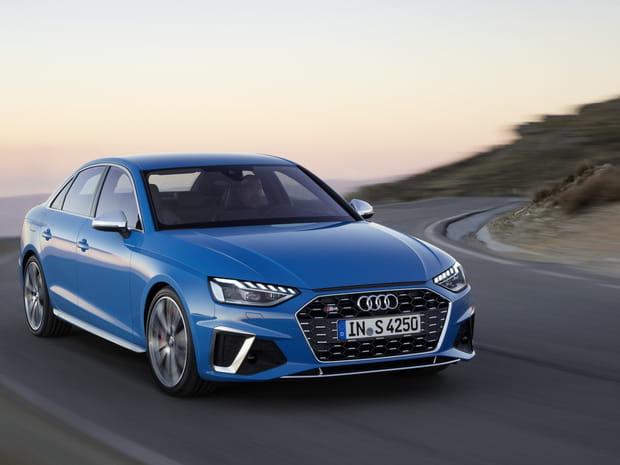 La nouvelle Audi A4restylée en images