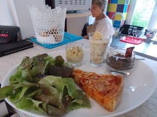 Le 31 Bistrot Chic  - L'Assiette formule tarte et verrines en entrée -