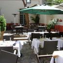 Au Flan Coco  - Le patio intérieur -