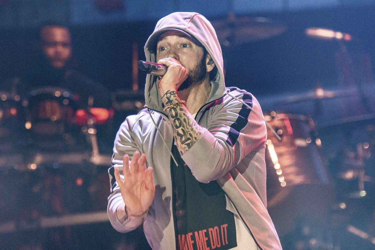 Eminem: message politique et collaborations... Tout sur son album surprise