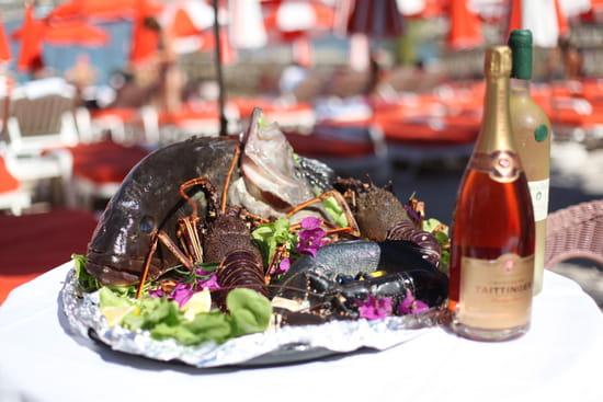 Plat : Plage de Passable  - Fruits de mer et champagne -   © plage de passable