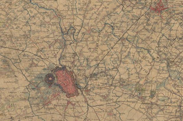 Lille dans les années 1860