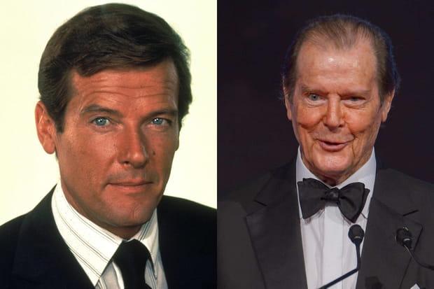 L'âge a rattrapé James Bond et Roger Moore