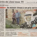 Crêperie la Chandeleur  - article du télégramme du 11 Août 2009 -   © le télégramme