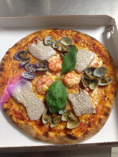 Da Pinocchio  - Pizza poissons coquillages Pinocchio -