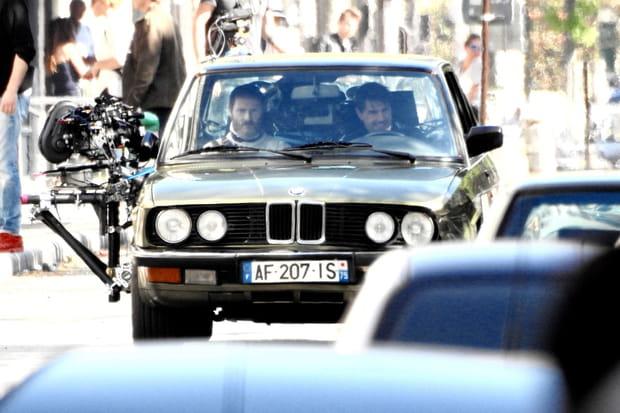 Sean Harris et Tom Cruise en balade