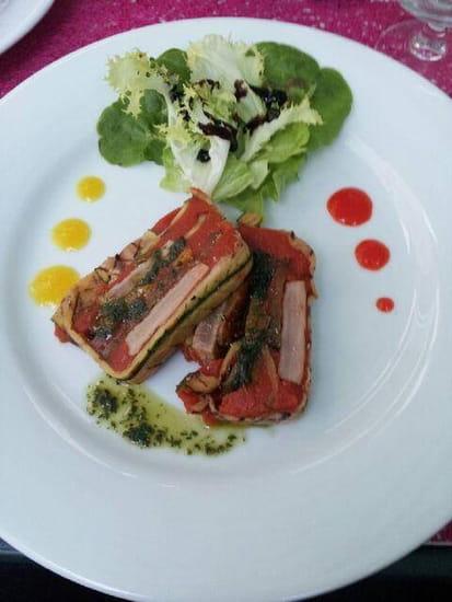 Aux Saveurs de Marsilly  - terrine de thon rouge aux légumes grillés -
