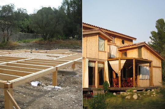Construction DUne Maison Bioclimatique En Bois