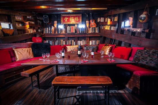 Restaurant : La Dame de Canton  - Carré du capitaine -   © DDC