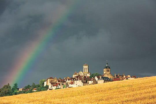 Lumière sur Vézelay