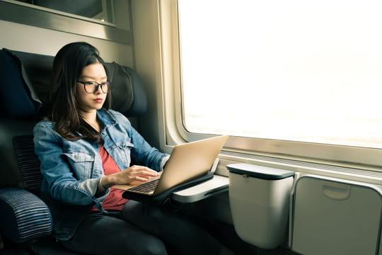 Wifi dans le TGV: une connexion gratuite et de bonne qualité?