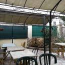 Au Bon Moine  - Notre terrasse -   © Au Bon Moine