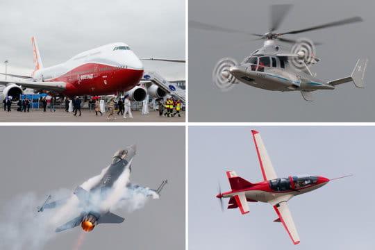 Les plus beaux avions du Salon du Bourget 2011