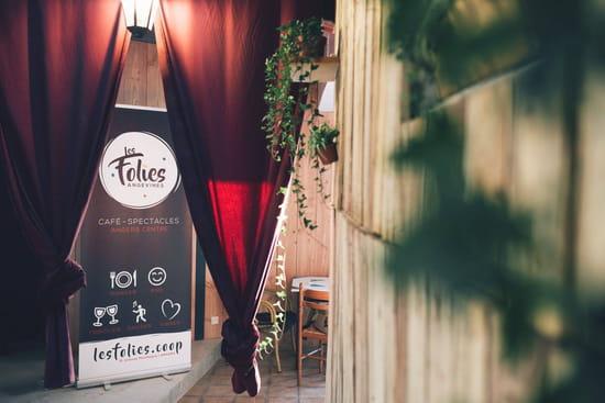 Restaurant : Les Folies Angevines  - Hall des Folies Angevines -   © Non