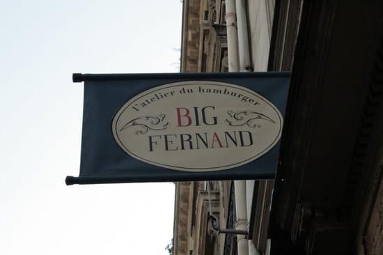 Big Fernand  - Big Fernand -   © 1001Menus