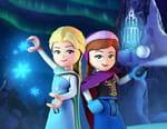 La reine des neiges : magie des aurores boréales