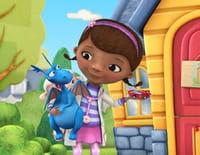 Docteur La Peluche : Sire Kirby et la princesse courageuse. - Sam, le serpent et son jet d'eau
