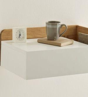 un chevet suspendre. Black Bedroom Furniture Sets. Home Design Ideas