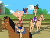Phineas et Ferb : Les héros de l'Ouest. - La neige en été