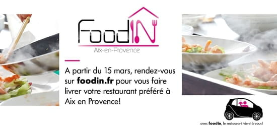 Food In  - Livraison de restaurants à domicile -   © Food In