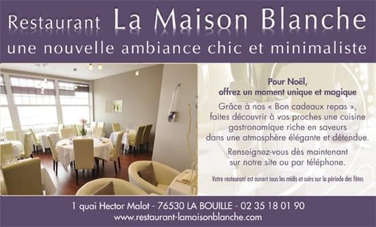 Restaurant la Maison Blanche  - Idée Cadeau -   © JFL