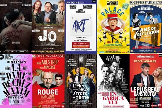 Les 10meilleures pièces de théâtre de la rentrée à Paris