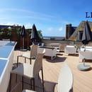 Restaurant : Le Grand Bé  - Rooftop -   © Antoine Chaumet